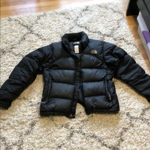 North face puffer jacket 700
